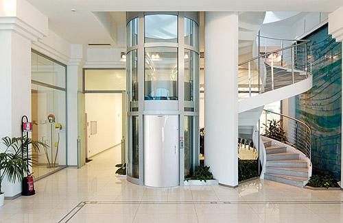 Simas porta tonda per ascensori esterni ed interni - Ascensore in casa ...