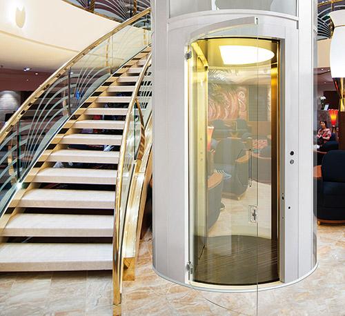 Simas porta tonda per ascensori esterni ed interni - Ascensori per interni ...